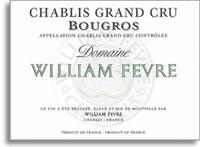 2012 Domaine William Fevre Chablis Bougros