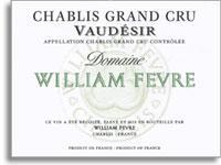 2008 Domaine William Fevre Chablis Vaudesir