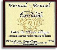 2010 Feraud Brunel Cairanne
