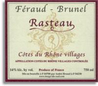 2007 Feraud Brunel Rasteau