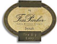 2012 Fess Parker Winery Syrah The Big Easy Santa Barbara County