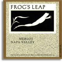 2007 Frog's Leap Winery Merlot Rutherford Napa Valley
