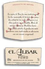 2003 Jacques & Francois Lurton El Albar Toro