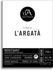 2010 Joan d'Anguera Finca L'Argata Montsant