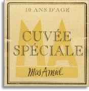 NV Mas Amiel Maury Cuvee Speciale 10 Ans d'Age