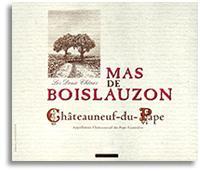 2009 Mas de Boislauzon Chateauneuf-du-Pape Tradition