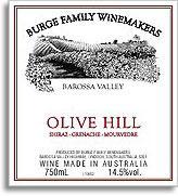 Vv Burge Family Winemakers Shiraz Grenache Doh Barossa Valley