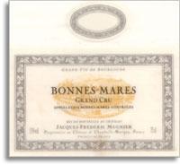 2012 Domaine Jacques-Frederic Mugnier Bonnes-Mares