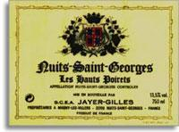 2010 Domaine Jayer Gilles Nuits-Saint-Georges Les Hauts Poirets