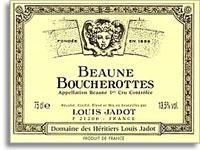 2012 Domaine/Maison Louis Jadot Beaune Boucherottes