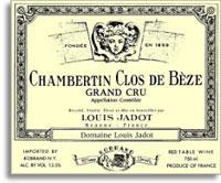 2009 Domaine/Maison Louis Jadot Chambertin-Clos de Beze (Pre-Arrival)