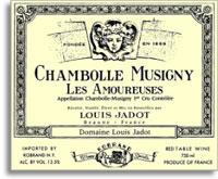 2012 Domaine/Maison Louis Jadot Chambolle-Musigny Les Amoureuses