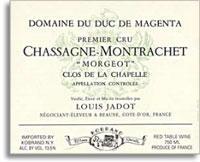 2009 Domaine/Maison Louis Jadot Chassagne-Montrachet Duc de Magenta Morgeot Clos de la Chapelle