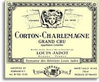 2009 Domaine/Maison Louis Jadot Corton-Charlemagne