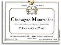 2010 Domaine Paul Pillot Chassagne-Montrachet Caillerets