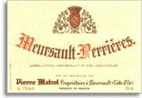 2007 Domaine Pierre Matrot Meursault Les Perrieres