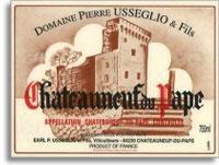 2012 Domaine Pierre Usseglio & Fils Chateauneuf-du-Pape