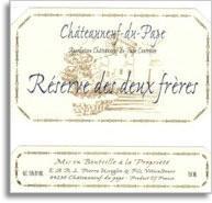 2000 Domaine Pierre Usseglio & Fils Chateauneuf-du-Pape Reserve des Deux Freres