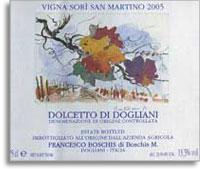 Vv Francesco Boschis Dolcetto Di Doglilani Sori San Martino