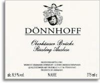 2010 Donnhoff Oberhauser Brucke Riesling Auslese