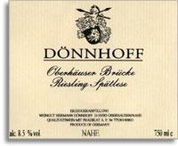 2007 Donnhoff Oberhauser Brucke Riesling Spatlese