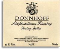 2012 Donnhoff Schlossbockelheimer Felsenberg Riesling Spatlese