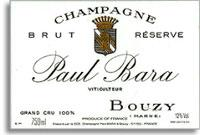 NV Paul Bara Bouzy Grand Cru Brut Reserve