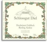 1992 Schlossgut Diel Dorsheimer Goldloch Riesling Auslese Gold Capsule