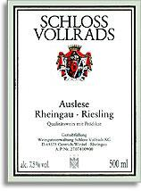 2007 Schloss Vollrads Riesling Auslese