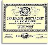 2009 Domaine/Maison Louis Jadot Chassagne-Montrachet La Romanee