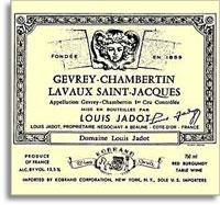 2012 Domaine/Maison Louis Jadot Gevrey-Chambertin Lavaux Saint-Jacques