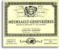2012 Domaine/Maison Louis Jadot Meursault Genevrieres