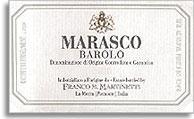 2001 Franco M. Martinetti Barolo Marasco