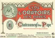2012 Clos de l'Oratoire des Papes Chateauneuf-du-Pape