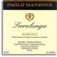 2010 Paolo Manzone Barolo Serralunga