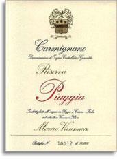 2009 Piaggia Carmignano Riserva