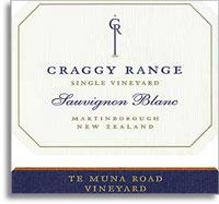 2010 Craggy Range Vineyards Sauvignon Blanc Te Muna Road Vineyard Martinborough