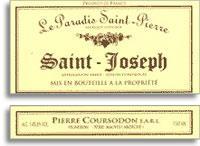 2010 Domaine Coursodon Saint-Joseph Le Paradis Saint-Pierre