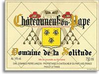 2012 Domaine de la Solitude Chateauneuf-du-Pape