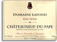 2009 Domaine Lafond Roc-Epine Chateauneuf-du-Pape
