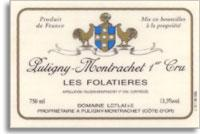 2013 Domaine Leflaive Puligny-Montrachet Les Folatieres