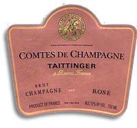 1996 Taittinger Comtes De Champagne Brut Rose