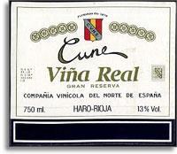 2009 Cune Vina Real Rioja Gran Reserva