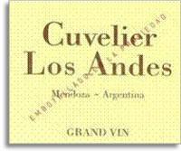 2008 Cuvelier Los Andes Grand Vin Blend Mendoza