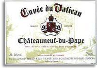 2012 Cuvee du Vatican Chateauneuf-du-Pape