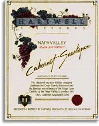 2001 Hartwell Vineyards Cabernet Sauvignon Stags Leap District