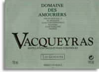 2011 Domaine Des Amouriers Vacqueyras Les Genestes