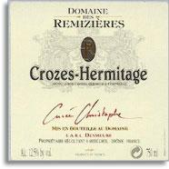 2009 Domaine des Remizieres Crozes-Hermitage Blanc Cuvee Christophe