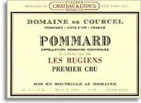 2012 Domaine De Courcel Pommard Les Rugiens
