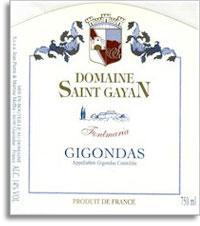 2006 Domaine Saint Gayan Gigondas Fontmaria